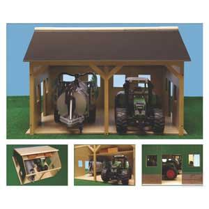 hangar en bois agr 338 agripassion. Black Bedroom Furniture Sets. Home Design Ideas