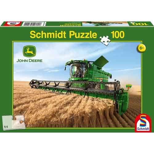 Puzzle Moissonneuse batteuse John Deere S690