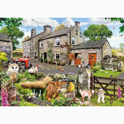 Puzzle Farmyard Friends